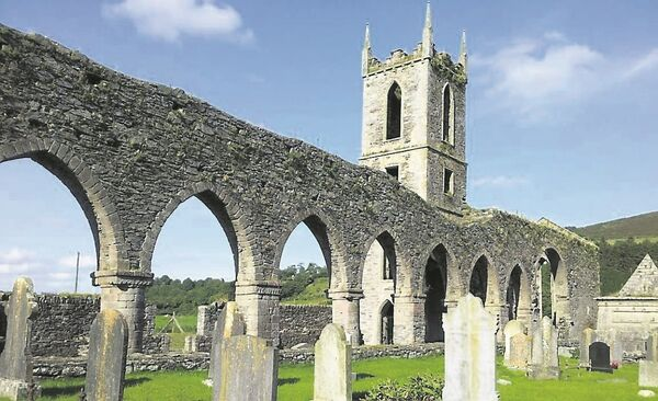 A dislodged corner stone at Baltinglass Abbey, Co Wicklow, cost €600 to repair, according to the new data from the OPW