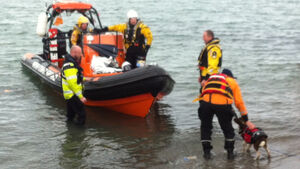 Coast Guard rescue two men off cliffs at Howth