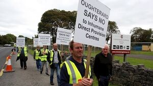 'We hate this idea that we're being tarred as racist,' say Oughterard protestors