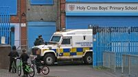 Belfast primary school where improvised weapon discovered remains closed