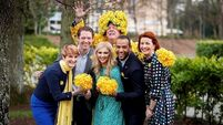 CervicalCheck campaigner Stephen Teap helps launch Irish Cancer Society's Daffodil Day