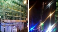 Cork's Washington St closed after 'partial' building collapse