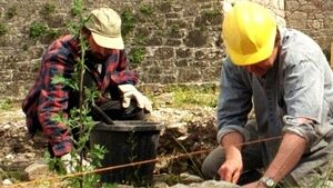 Archaeologists dig deep in living wage campaign
