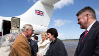 Prince Charles lands at Shannon for four-day visit