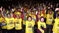 Darkness into Light event draws more than 100,000 people