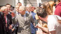 Prince Charles tours Sligo town where his great-uncle died