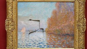 Dublin man gets six years for damaging Monet painting