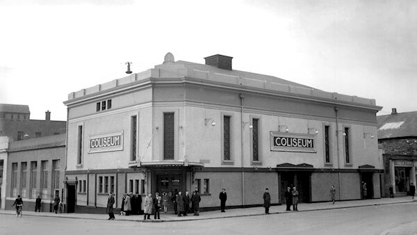 The former Coliseum cinema pictured in 1953.