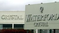Former Waterford Crystal workers accept Government pension settlement