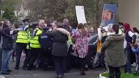 Water-charges protest organiser: It was peaceful