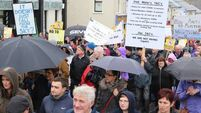 Thousands brave rain to protest; Right2Water announce December rally