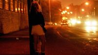 Trafficked prostitutes 'up by 17%'