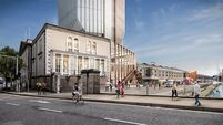 Revised designs for 34-storey skyscraper on Custom House Quay