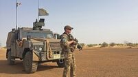 Mali roadside bombing injured Irish Army Ranger Wing members