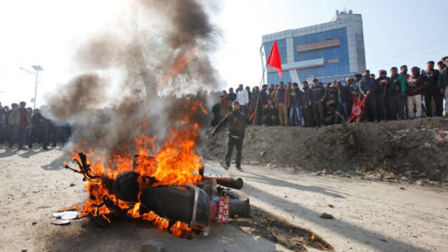 Nepal parliament descends into chaos and violence