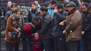 Four fired over Shanghai New Year's Eve stampede