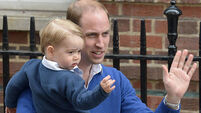 William 'very happy' with daughter