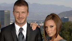 Survey sees Beckhams as best family example