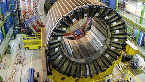 Large Hadron Collider turned back on