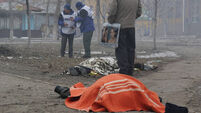 Thirty dead after 'rebel push' in Ukraine