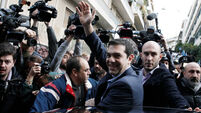Polls close in Greece; exit poll shows up to 39.5% vote for Syriza
