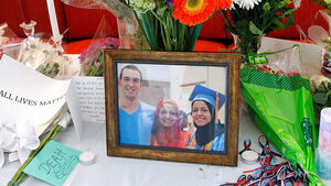 Victims' father convinced killing of three US Muslims was a hate crime