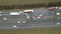 Four dead after 40-car motorway pile-up