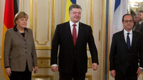 European leaders push new peace plan for Ukraine