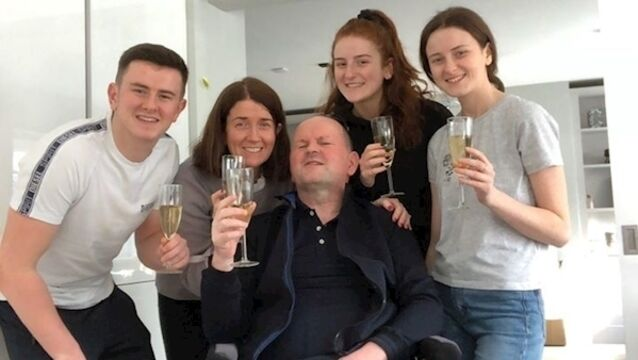 Sean Cox comes home to Dunboyne two years after life-changing attack