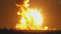 Nasa rocket explodes after lift-off in Virginia