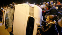 Police order Ferguson protestors off the streets