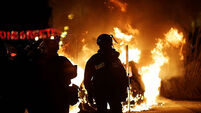 Trouble erupts in Ferguson after jury decision