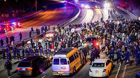Thousands rally across US after Ferguson ruling