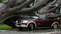 California hit by powerful storm