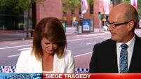 Newsreader breaks down as she realises connection to Sydney siege victim