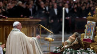 Pope's New Year's message on brevity of life