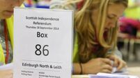 Turnout record for independence vote