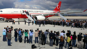 Turkish president quiet on hostages' release