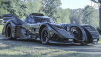 This guy spent two years building this Batmobile
