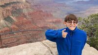 Nine-year-old boy prepares bucket list before he loses his sight