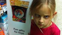 Little girl's look of disgust convinces Tesco to take down gendered signs