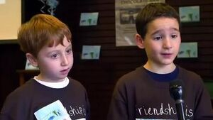 Little boy's 'Chocolate Bar' book raises $1 million for rare liver disorder