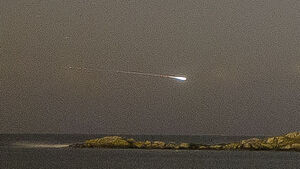Amateur photographer captures 'once in a lifetime' fireball photo over Dalkey