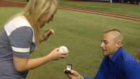 Paramedic proposes to the woman whose life he saved