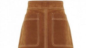 Brown suede skirt jump-starts M&S recovery