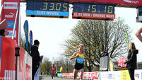 Britton's best earns second place in Great Ireland Run