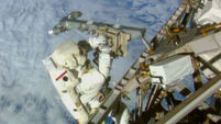 Astronauts complete spacewalk on ISS