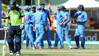 India cruise to win over Ireland