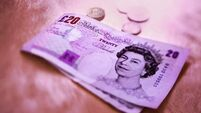 Sterling knocked by GDP downgrade