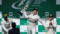 Controversial double-points rule means the F1 title is down to the wire